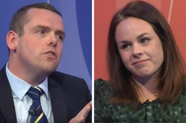 Douglas Ross was schooled by the Finance Secretary