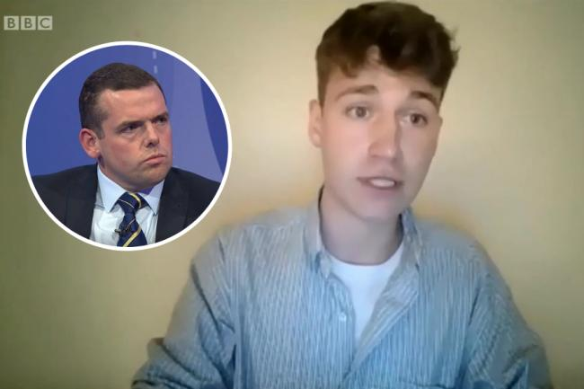 Lucas, an English student in Scotland, destroyed Douglas Ross's case for Scotland staying in the Union
