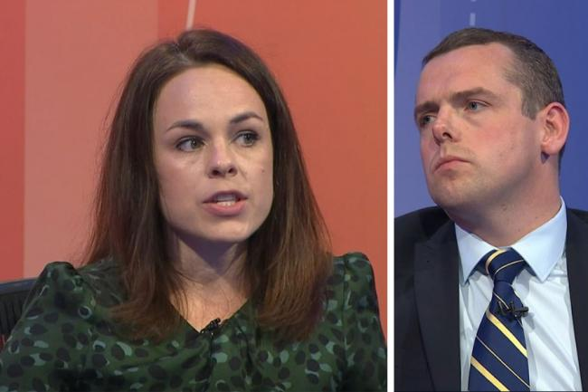 Kate Forbes and Douglas Ross went head to head on BBC Question Time