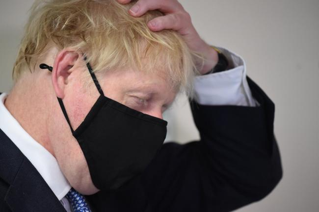 'Boris Johnson's attack on our democracy earlier this week wasn't a slip of the tongue – it was a slip of the Tory mask'