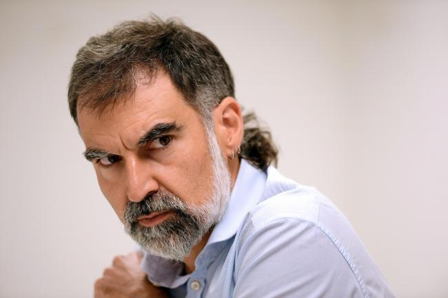 Jordi Cuixart is the head of Omnium Cultural, a Catalonian cultural association