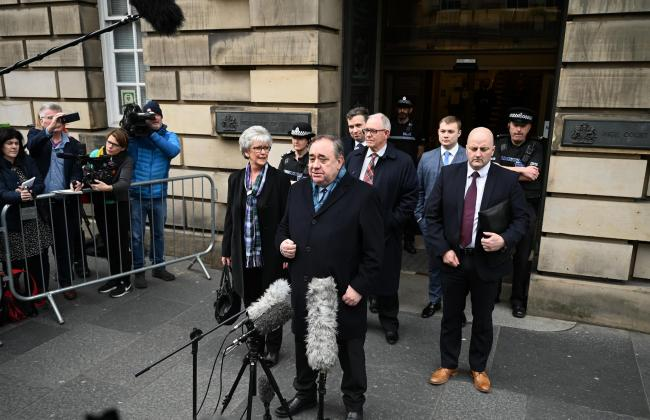 Former First Minister Alex Salmond has called on the Scottish Government to publish their legal advice