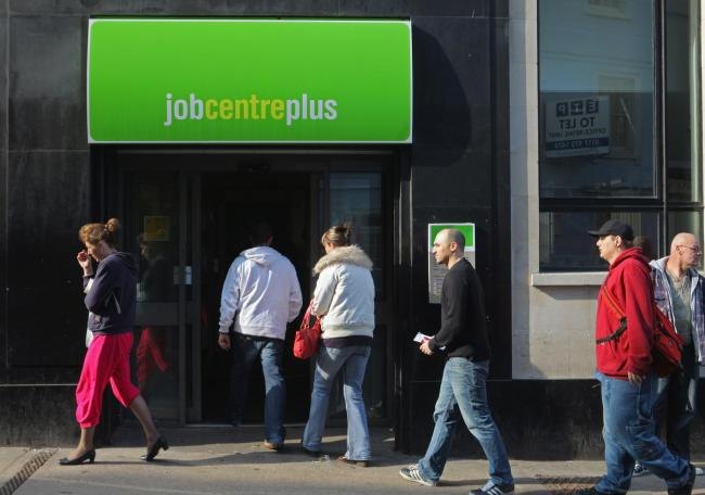 Face-to-face Jobcentre meetings have been scrapped across Central Scotland after the DWP classed the area as being on a 'very high' Covid alert
