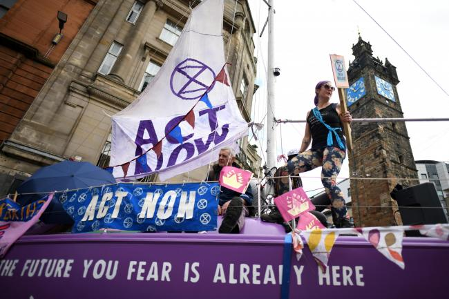 Extinction Rebellion claim the civil service has tried to water down the urgency of next year's summit