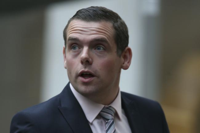 Douglas Ross refuses to comment on resigning if Tories return to third place in Holyrood