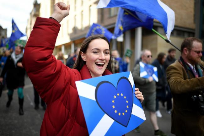 'All of those voters now moving towards Yes had positive opinions of the EU'