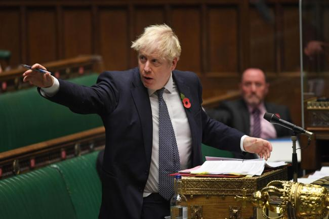Boris Johnson managed to flip-flop twice in a matter of second at Prime Minister's Questions