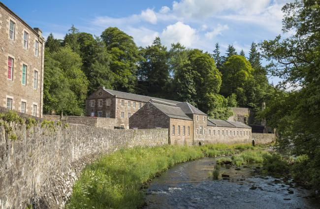 New Lanark World Heritage site is always a fun and informative family day out