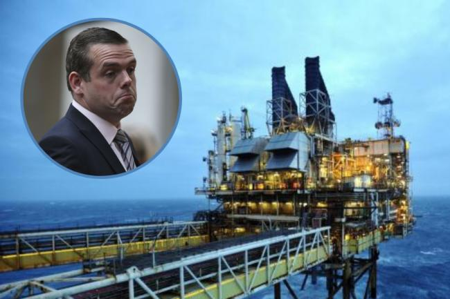 Douglas Ross said his party would 'not throw away oil and gas jobs to achieve climate goals'