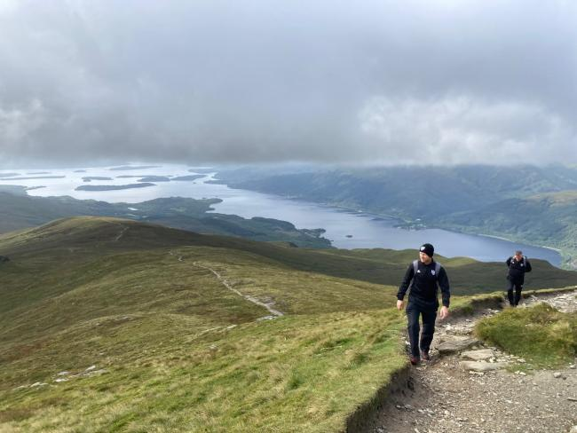 Ben Lomond is said to be among the worst-hit sites