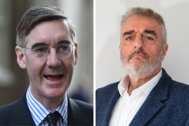 Jacob Rees-Mogg denied Tommy Sheppard's comparison between the UK Government and the US president