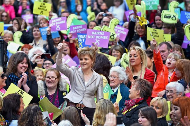 The SNP is much too large a party for everyone to know everyone else