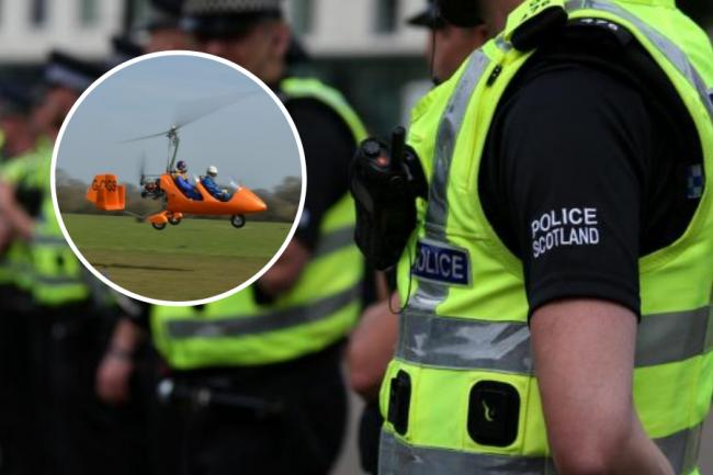 Police are appealing for witnesses after the gyrocopter crash