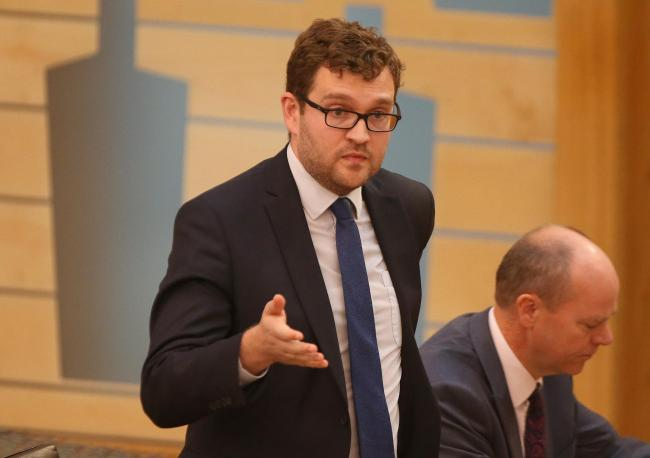 Oliver Mundell has resigned from the Scottish Conservative shadow cabinet