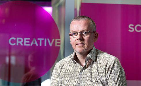 Iain Munro is the CEO of Creative Scotland