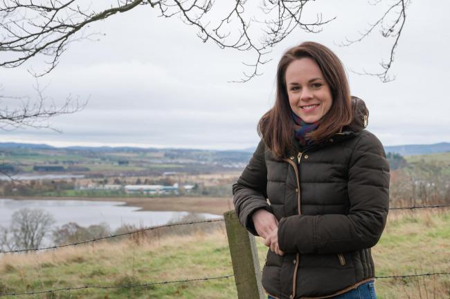 Kate Forbes is the MSP for Skye, Lochaber and Badenoch Photograph: Ruaraidh White.