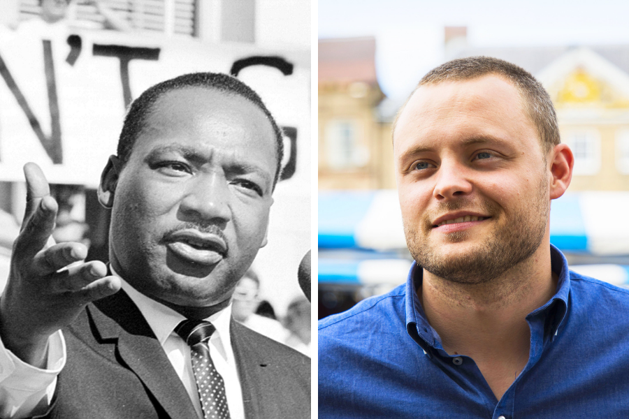 Ben Bradley humiliated by Martin Luther King