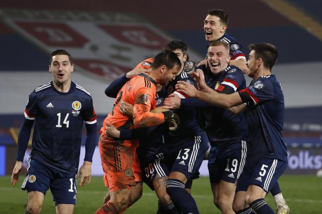 Wouldn't it be great if Scotland could wear azure strips for their big games?