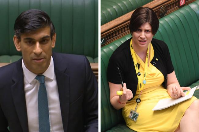 Spending Review Alison Thewliss Blasts Rishi Sunak For Festival Of Brexit The National