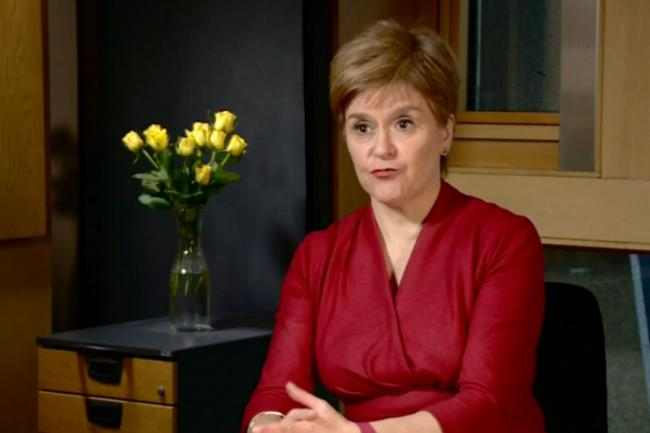 Nicola Sturgeon said she had neither 'ruled out nor ruled in' an indyref in 2021