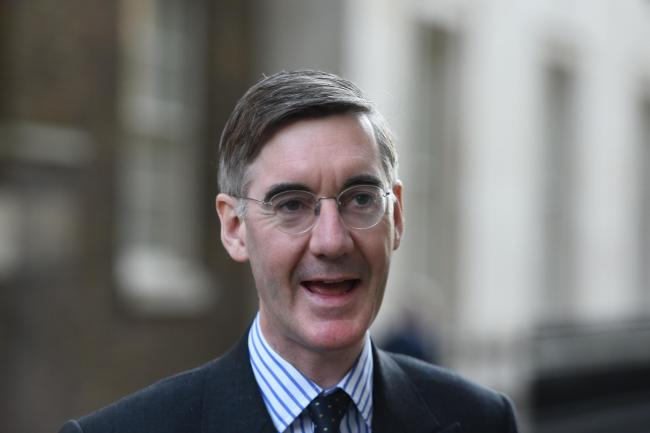 Jacob Rees-Mogg said the Tories 'must undo' Labour's 'foolish tinkering' with the UK constitution