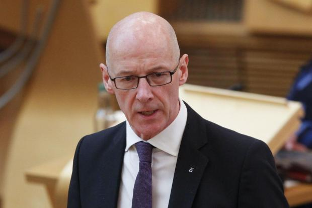 The National: Deputy first minister John Swinney