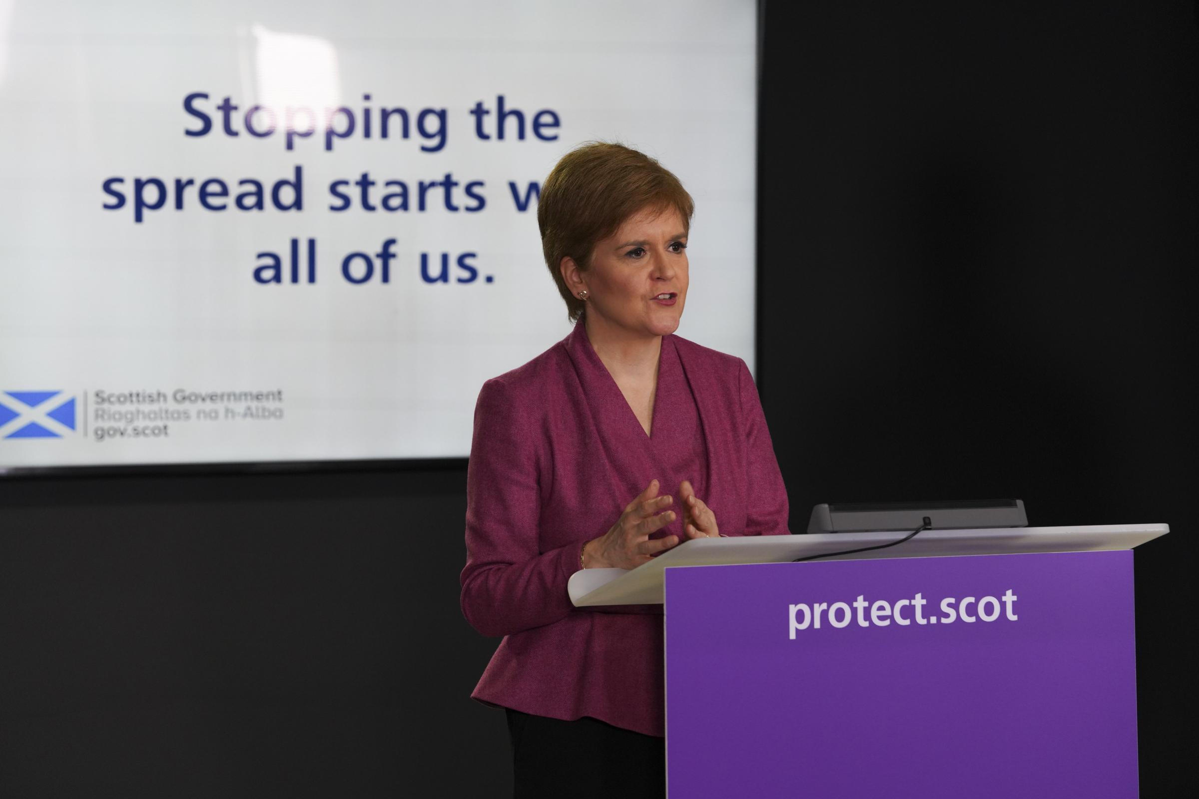 Scots to start receiving coronavirus vaccine next week, FM confirms