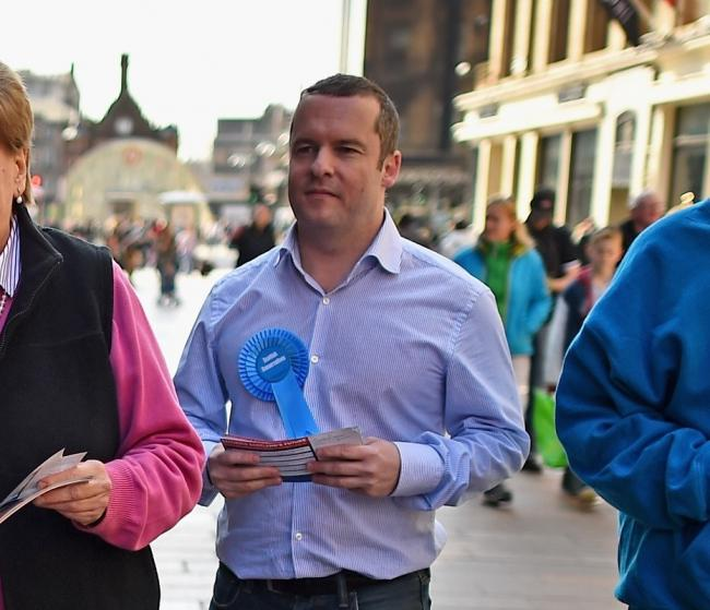 Andrew Polson is the Conservative co-leader of East Dunbartonshire Council