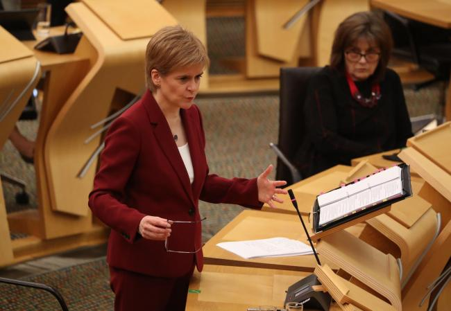 Nicola Sturgeon said the loss of the programme is 'deeply, deeply regrettable'