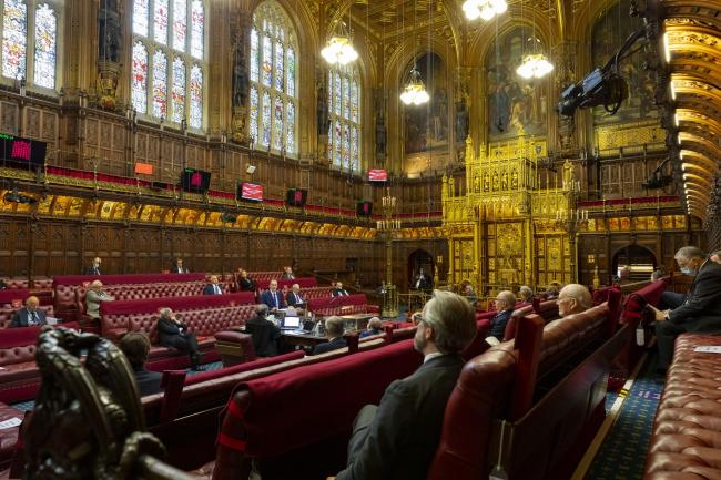 Lords are expected to vote in favour of the European Union (Future Relationship) Bill