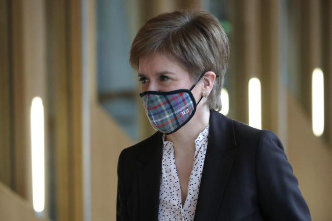 Nicola Sturgeon was described as 'opportunistic and irresponsible'