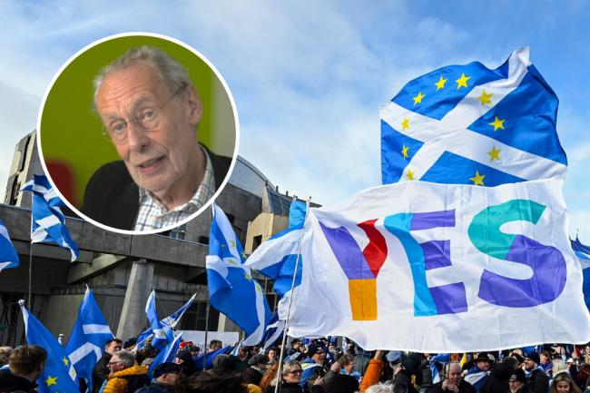 Leslie Huckfield said 'so many of us are very glad we live in Scotland'
