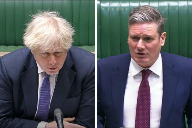 Keir Starmer asked Boris Johnson a raft of questions all at once, allowing the PM to pick and choose which he answered
