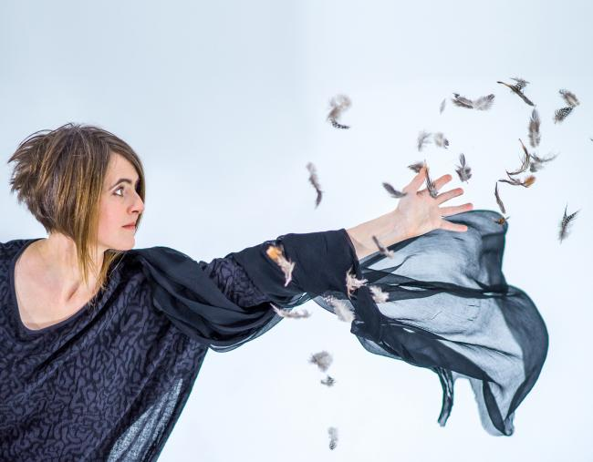 Karine Polwart is among those who performed their work in the City Chambers
