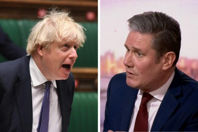 Keir Starmer disagrees with Boris Johnson's stance on indyref2