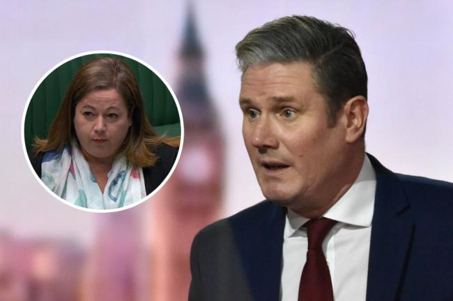 SNP deputy Westminster leader Kirsten Oswald took aim at Labour leader Keir Starmer