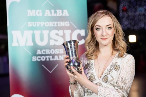 The National: Award-winning Scots singer Iona Fyfe said the visa's loss was a 'great shame'
