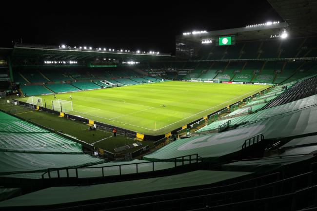 A general view of Celtic Park. Photo: Jane Barlow/PA Wire.