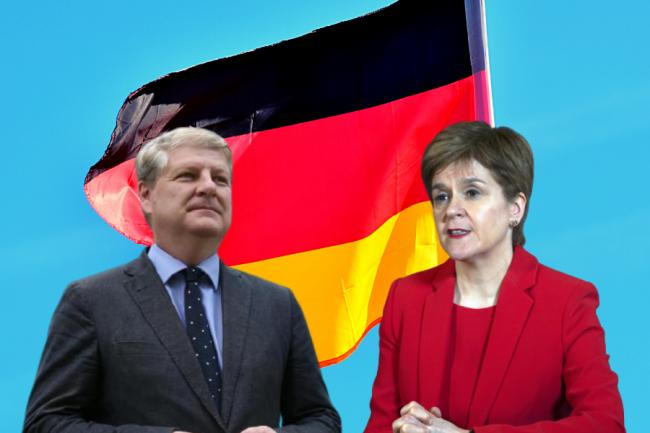 Angus Robertson was among several Scots who spoke to the German dpa news agency