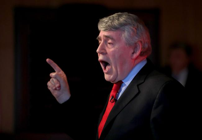 Our Scottish Future was set up by Gordon Brown to oppose Scottish self-government