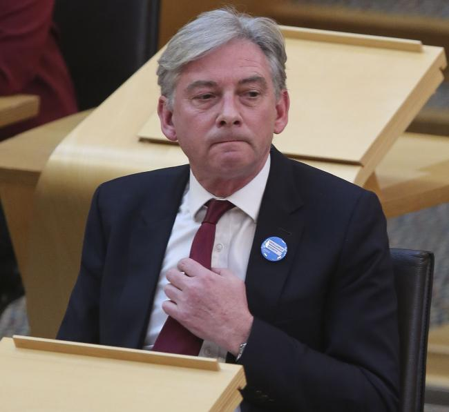 Richard Leonard has resigned with immediate effect