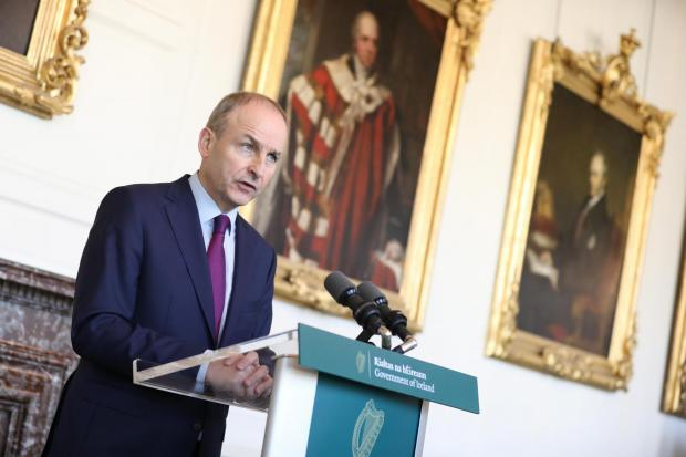 Taoiseach Micheal Martin says a poll on Irish unification is not on the cards within the next five years