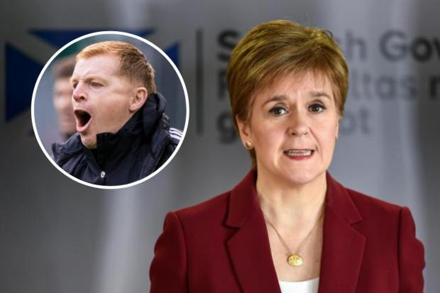Celtic manager Neil Lennon has taken aim at Nicola Sturgeon's government after suggesting his team were 'bullied'