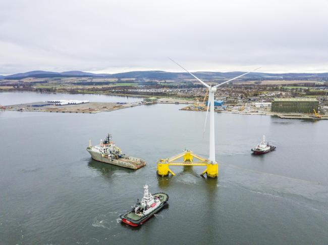 The Power House centre aims to develop applied research and highly-skilled jobs in renewable energy sectors such as floating offshore wind power and green hydrogen