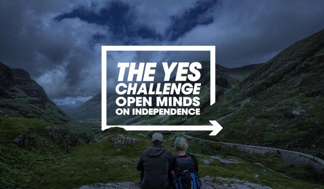 Pick an undecided voter and let's convince them on independence