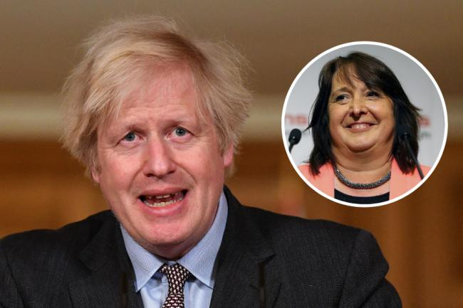 Boris Johnson attacked the 'Scottish nationalist party' in response to a question from LibDem MP Christine Jardine