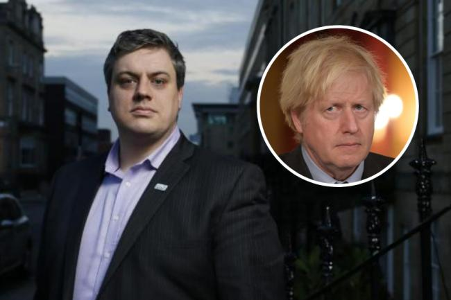 Blair McDougall complained that Boris Johnson is acting as  a 'villain'