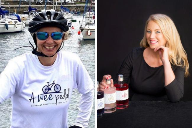 Leanne Farmer (left) and Carol Jackson have been included in a list of the 100 most inspirational feamle entrepreneurs
