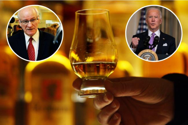 Gil Paterson MSP has asked US President Joe Biden to lift the 25% tariff Donald Trump set on Scotch Whisky