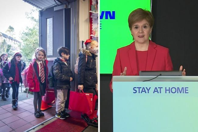 Nicola Sturgeon set out details about when more pupils could return to classrooms at the daily coronavirus briefing